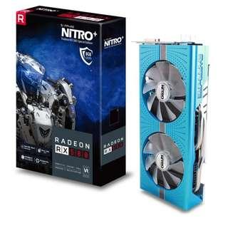 SAPPHIRE NITRO+ Radeon™ RX 580 8GD5 Special Edition (SAP-RX-580-8G-SE)