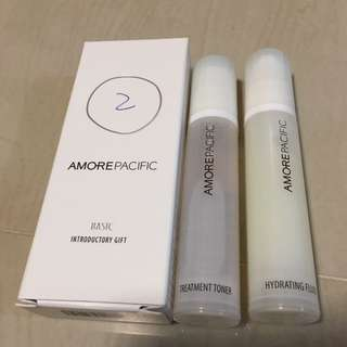 Amorepacific toner fluid 10ml + 10ml