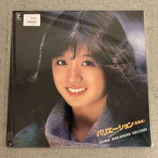 Akina Nakamori- Akina Nakamori second vinyl