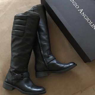 ENZO ANGIOLINI👢長筒靴