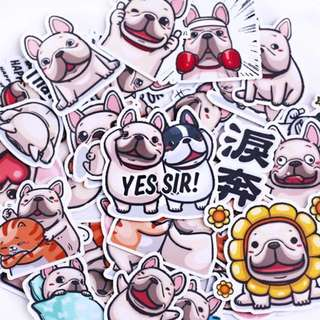 ⏰ Planner Stickers — Pug / Dogs / Animals / Expressive