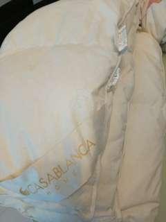 Casablanca嬰兒羽絨被8成新