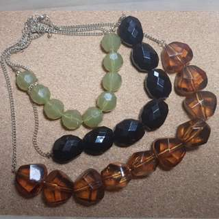 Free Delivery: Beaded Statement Necklace