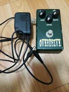 efek gitar overdrive beelcat good condition free desktop