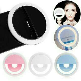 Selfie ring free battery fixed price