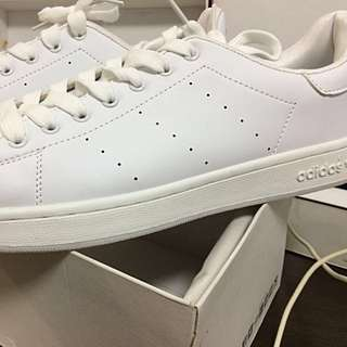 Adidas Stan Smith Inspired White Shoes