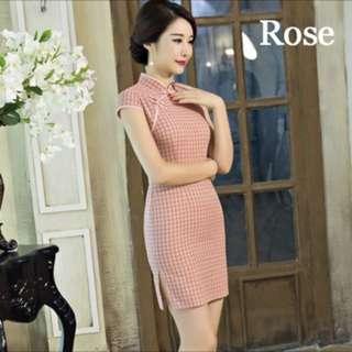 Cheongsam dress size L
