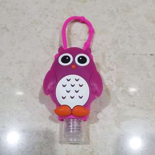 Disinfectant with owl cover