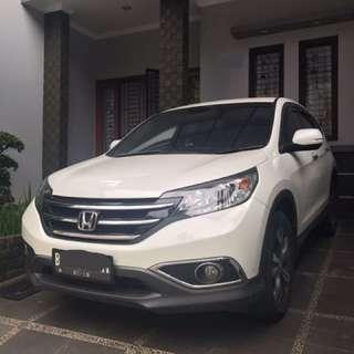 Jual Honda CRV 2.4 prestige 2013 pajak panjang mulus