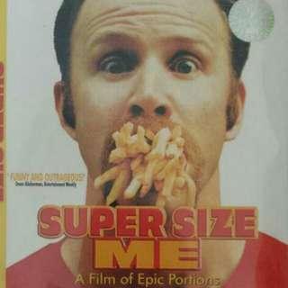 Super Size Me Movie DVD