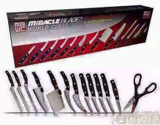 Knife and Cuttlery Set