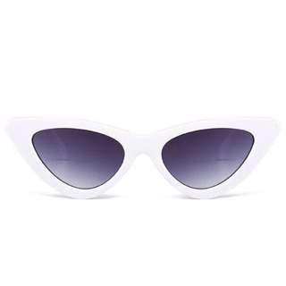 Cat Sunglasses / White Shades