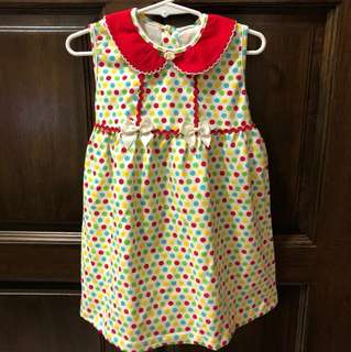 New Tenderly PolkaDot Dress