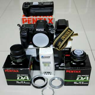 Pentax K5 | DA40 Ltd | DA70 Ltd | Accessories