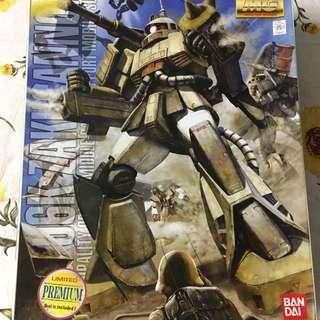 (現附送專用水貼 No.58)MG MS-06K Zaku Cannon (Limited Premium)
