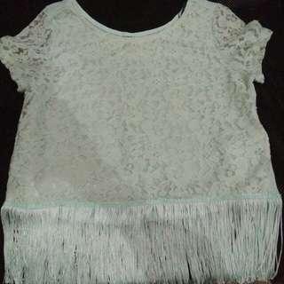 Pre 💓 H&M Lace top