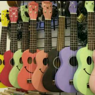 XMX Coloured Soprano Ukuleles