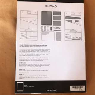 "Knomad 10"" Leather Portable Organiser"