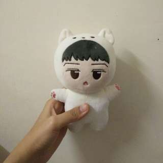 ARTIC FOX HUNNIE 15cm (WITH ONE EXTRA SET CLOTHES)