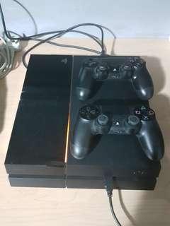 Playstation 4 500GB Black (Negotiable)