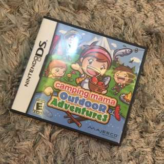 Nintendo DS Camping Mama Outdoor adventures ( for DSI and DS lite )