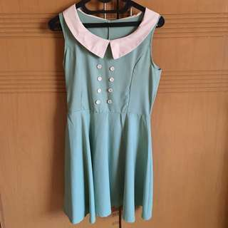 Tosca green dress