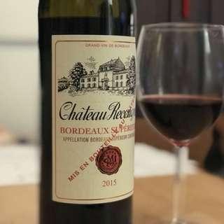 法國紅酒,Château Recougne Bordeaux Supérieur 2015