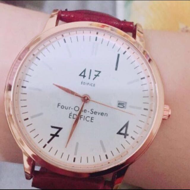 417設計EDIFICE手錶