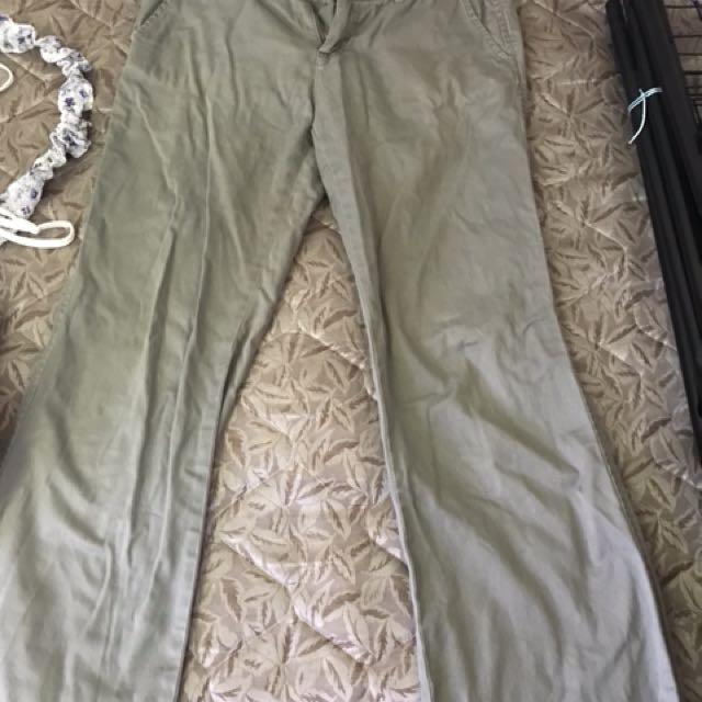 西裝風格休閒褲