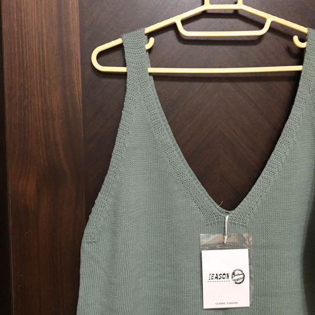 🔹針織背心裙