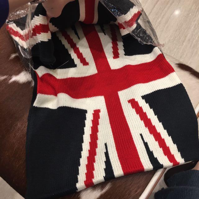 英國風圍巾