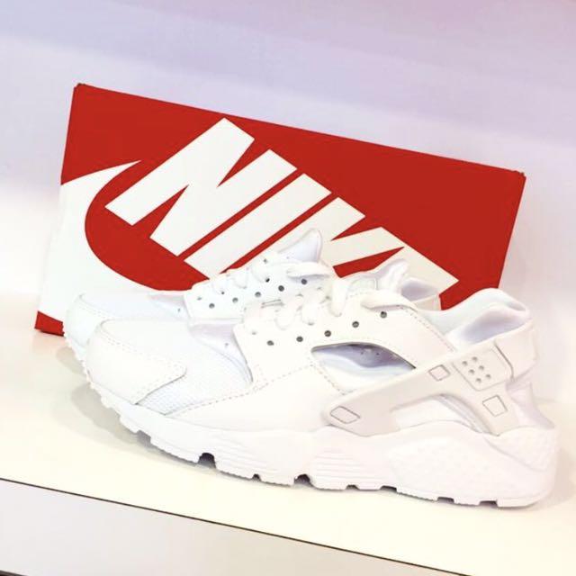 最後一雙出清 Nike Huarache 全白武士鞋✨
