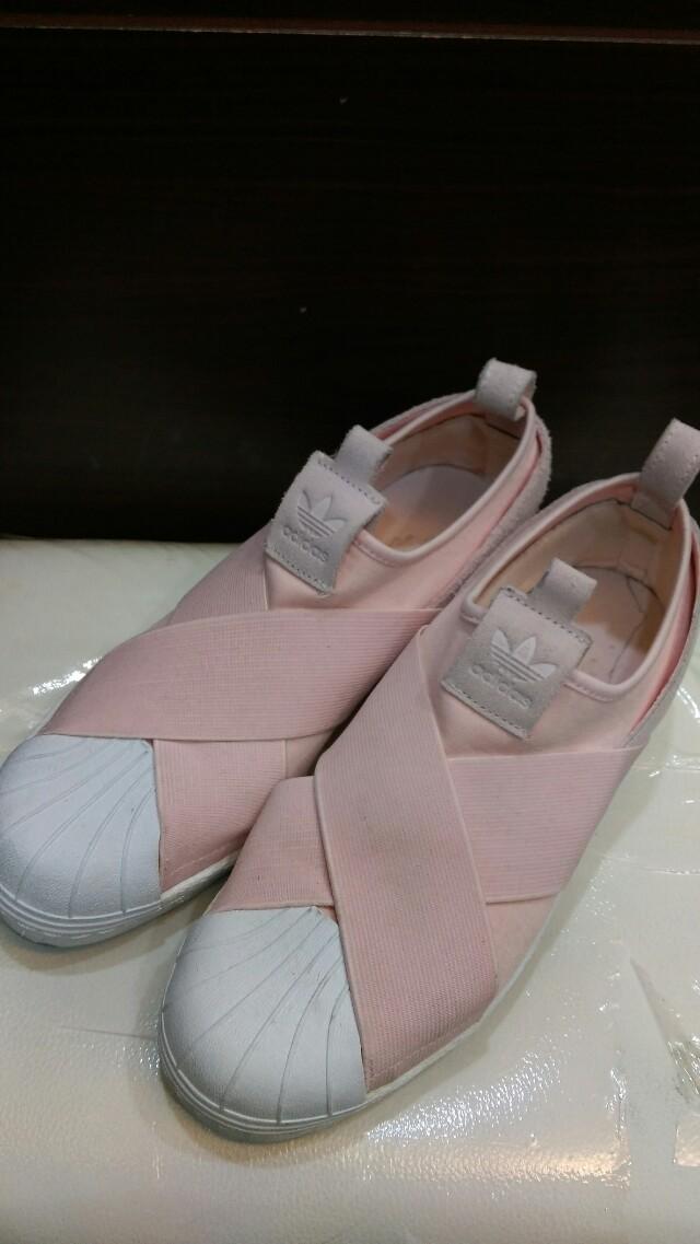 Adidas繃帶鞋 粉色 38