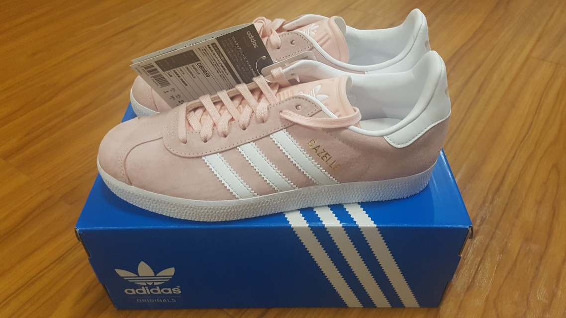Original Adidas Gazelle Pink for women