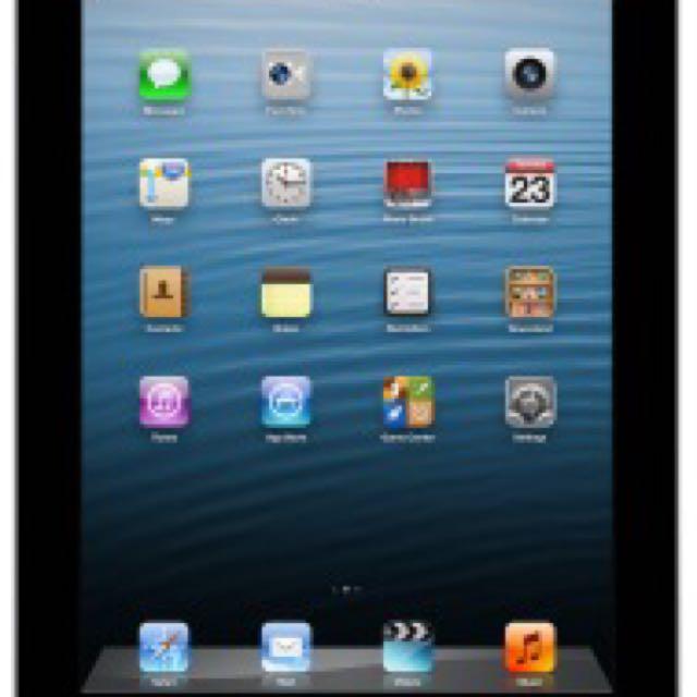 Apple iPad 4 16GB wifi Black