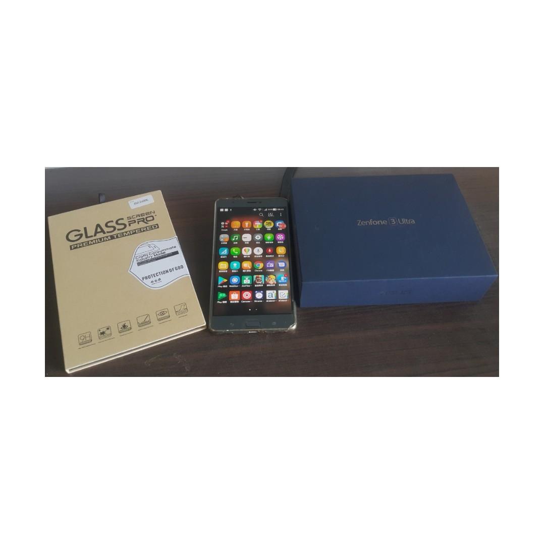 ASUS Zenfone3 Ultra ZU680KL 4G/64G 保固到2019/10