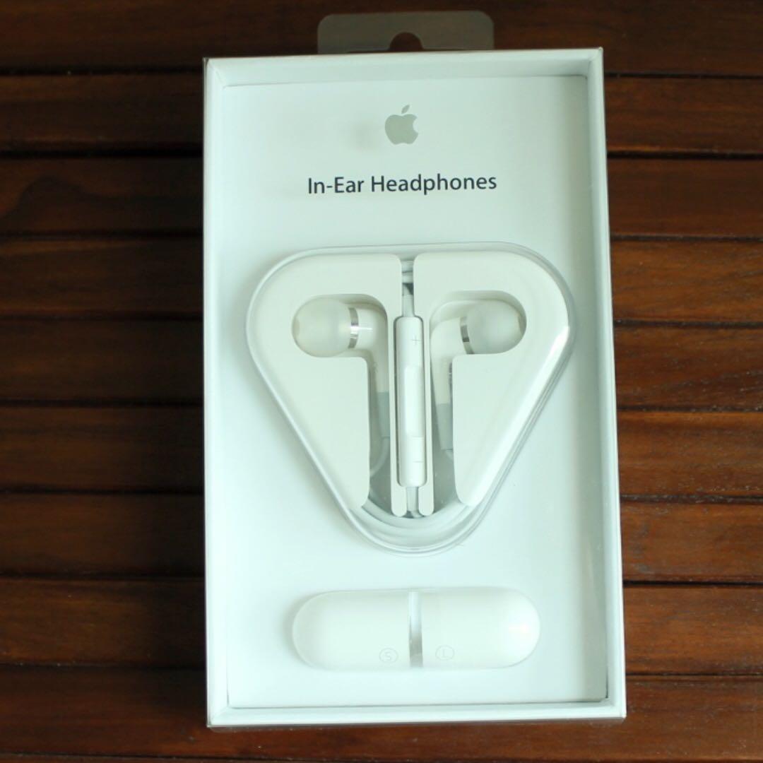 AUTHENTIC Apple In-Ear Headphones (unused)