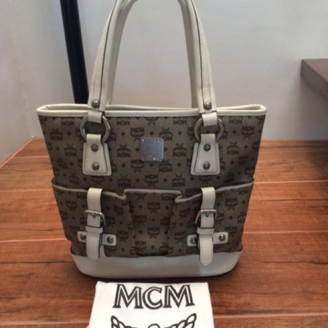 Authentic MCM tote