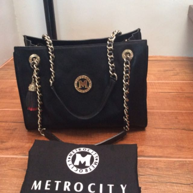 Authentic Metrocity tote
