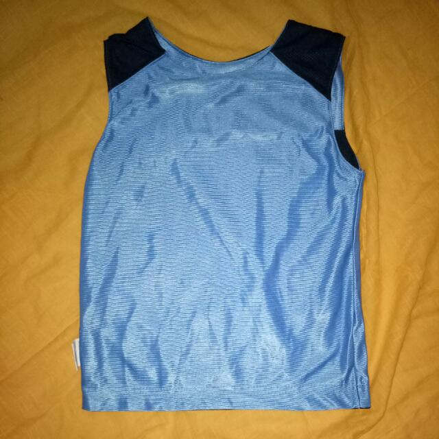 Baju Basket Anak Warna Biru
