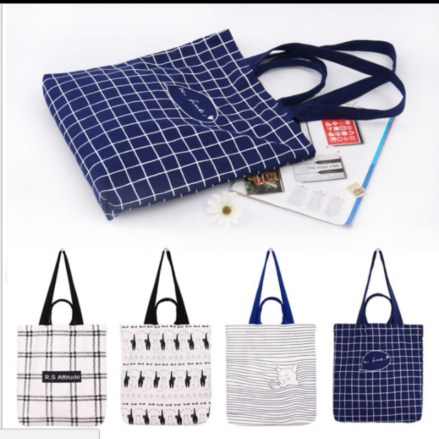 Basic Tote Bag #CarousellXTULC