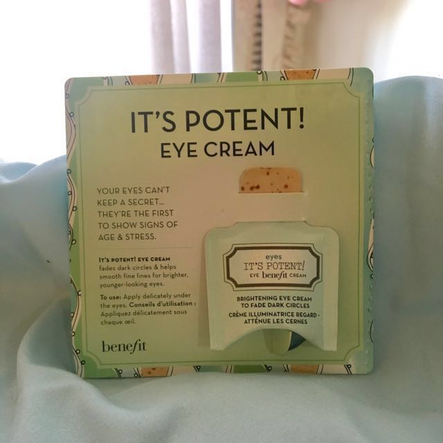 Benefit It's Potent Eye Cream (Sample)