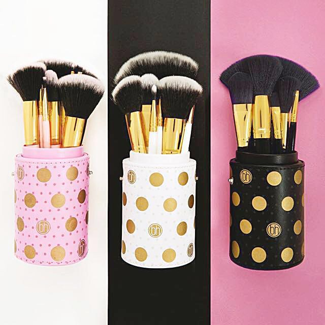 4085613ddc135 BH COSMETICS Dot Collection - 11 Piece Brush Set Pink