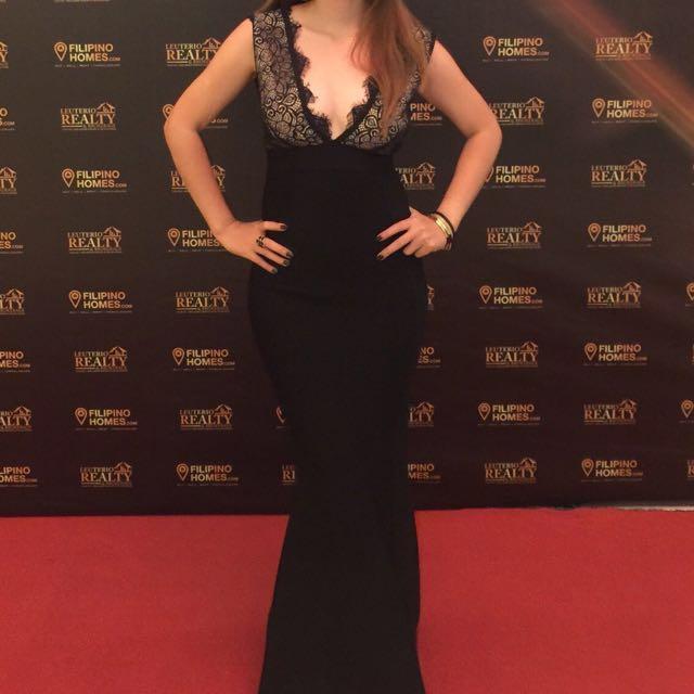 Black Bandage Gown