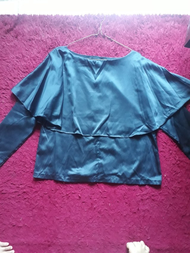 blouse black