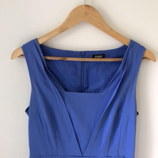 Blue dress size 10