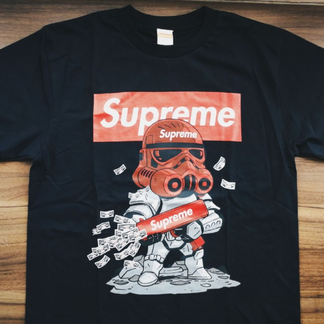 Bnip Supreme Stormtrooper Star Wars Street Wear T Shirt Men S Fashion Clothes On Carou
