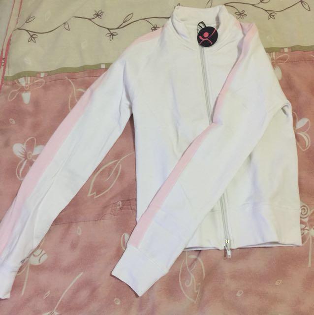 Bongo White Athletic Jacket