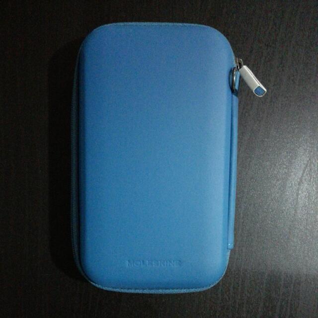 c599778b9eb8 Brand new Moleskine Journey Hard Pouch Blue Small, Mobile Phones ...
