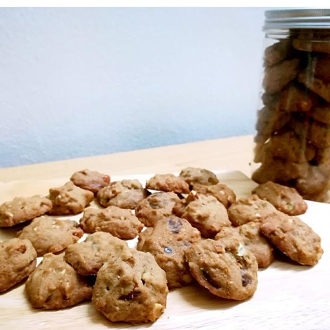 Callebaut dark chocolate chip cookies